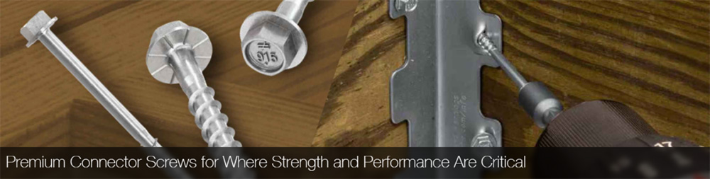 Premium Connector Screws for Where Strength and Performance Are Critical
