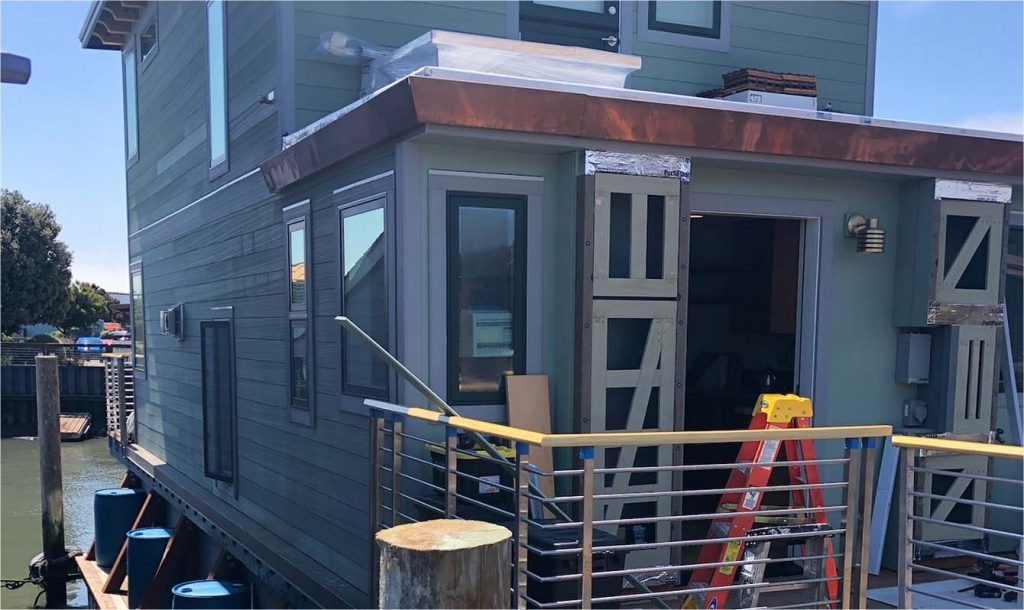 Bonnie L. Carpenter Sausalito Houseboat